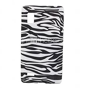 Zebra-Stripe Pattern Soft Case for LG Optimus L9 P760