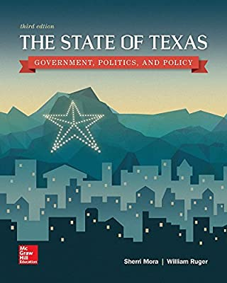 book-image-The State of Texas: Government, Politics, and Policy