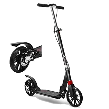 WGE Patinetes Scooters for Adultos con Frenos de Disco ...