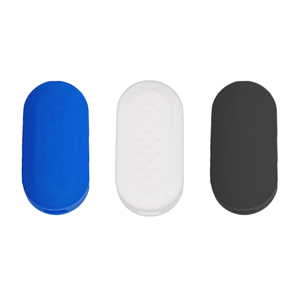 Nicky Turquoise Luminous in The Dark Protective Cover for Fiat 3-Buttons Car Key Silicone Keys Protector