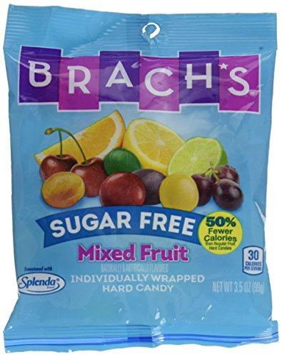 Brach's Sugar Free Mixed Fruit Hard Candy, 3.51 -