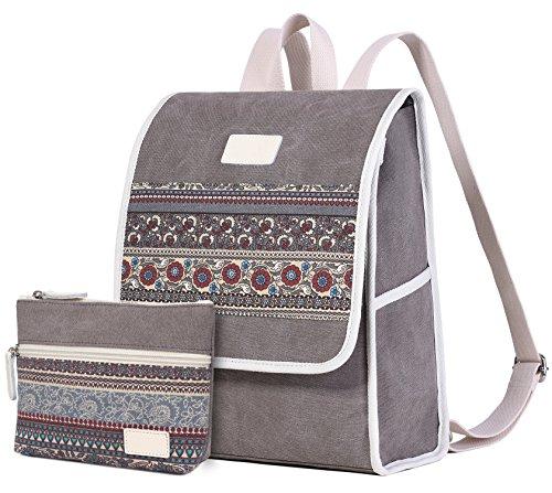ArcEnCiel Backpack for Women Canvas Girls Purse