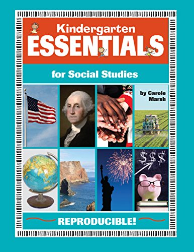 Books : Kindergarten Essentials for Social Studies (Everything Book)