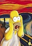 1art1 40763 The Simpsons - Homer, Der Schrei Poster (91 x 61 cm)