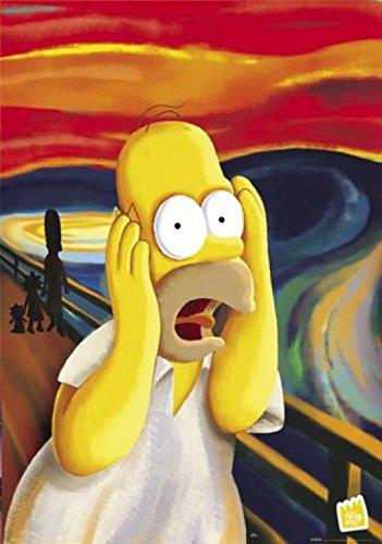 1art1® 40763 The Simpsons - Póster de Homer, El grito (91 x 61 cm)https://amzn.to/2E9kb9P