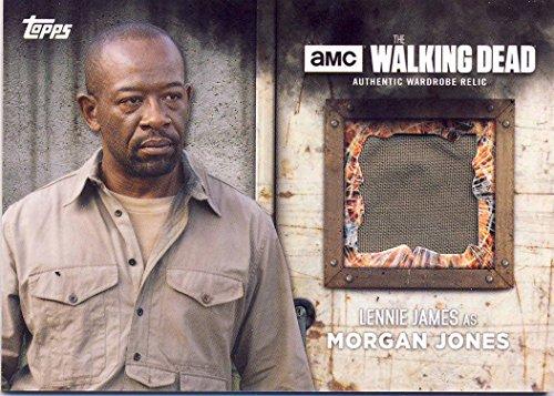 2017 Walking Dead Season 6 Screen-Worn Wardrobe Card Morgan Jones' Jacket