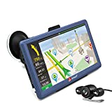 "Image of junsun 7"" Car GPS Navigation Android Navigator Rear view Camera Truck Vehicle Gps Sat Nav Lifetime Maps"