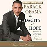 In July 2004, Barack Obama electrified the Democratic National Convention with an address that spoke to Americans across the political spectrum. Now, in  The Audacity of Hope, Senator Obama calls for a different brand of politics: a politics for thos...