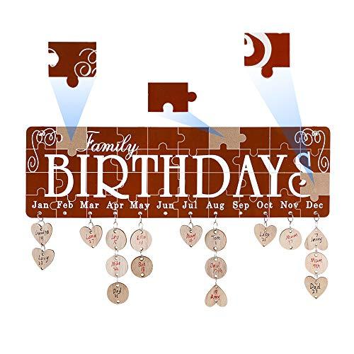 Amazon Giveaway: Joy-Leo Jigsaw Puzzle Red Family Birthday