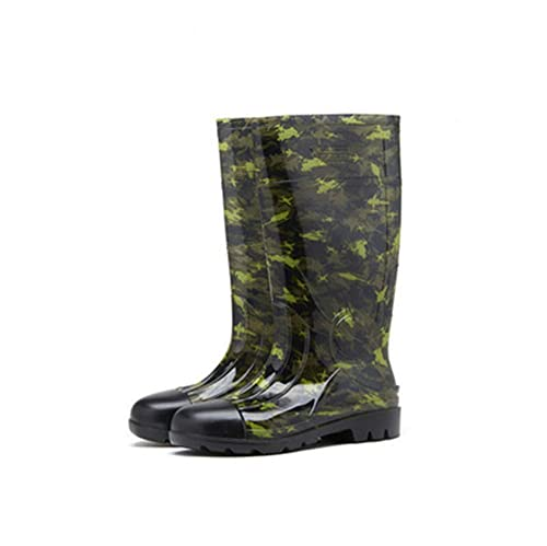 where to buy new design low price Amazon.com | ciwoeiaa Camouflage Rubber Low Boots Mid-Calf ...
