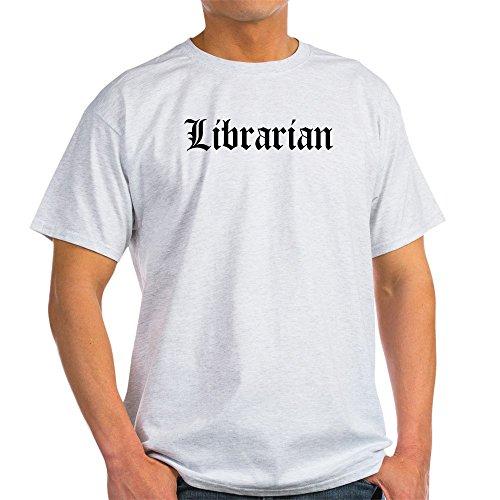 CafePress Librarian Ash Grey T-Shirt - 100% Cotton T-Shirt Librarian Ash Grey T-shirt