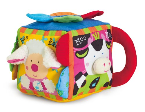 Creative Textile Tool - Melissa & Doug K's Kids Musical Farmyard Cube Educational Baby Toy