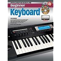 11813 - Progressive Beginner Keyboard - Book/CD/DVD