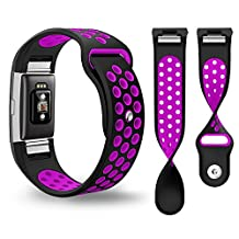Fitbit Charge 2 Band,Bepack Silica gel Soft Silicone Adjustable Replacement Wristband for Fitbit Charge 2 Smartwatch Heart Rate Fitness Wristband