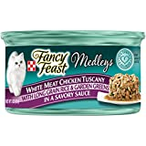 Purina Fancy Feast White Meat Chicken Tuscany Cat Food - (24) 3 oz. Pull-top Can