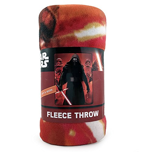 Disney Star Wars Ep7 45x60 Fleece Throw Standard ()