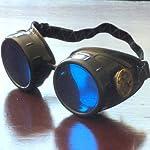 Steampunk Victorian Goggles welding Glasses diesel punk-owp 8