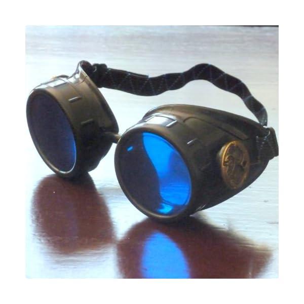 Steampunk Victorian Goggles welding Glasses diesel punk-owp 5