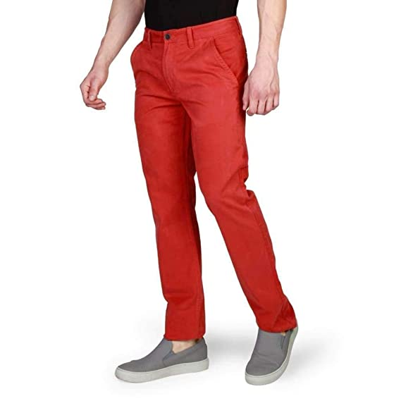 100% satisfaction attractive price fashionable style Timberland A17CD Men's Chinos Red