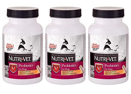 Nutri-Vet Probiotic for Dogs, 60 Count