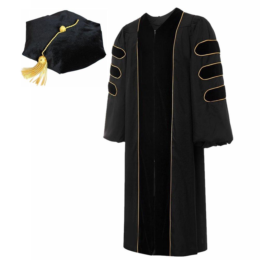 Doraemall PHD Gown/6 Sided Tam Set