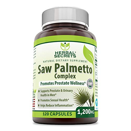 Herbal Secrets Palmetto Complex Supplement product image