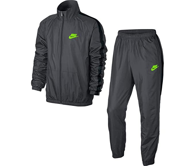 Nike M NSW TRK Suit Wvn Season Chándal, Hombre, Gris (Dark