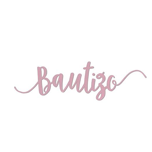 Sizzix B07H7MRKX3 Bautizo Baptism by Luisa Elena Guillén