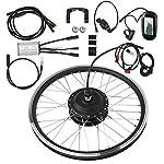 51kCWzVlDJL. SS150 T best Kit di conversione per Bicicletta elettrica, Kit di conversione per mozzo per Bicicletta con Motore per…