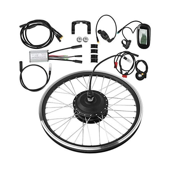 T best Kit di conversione per Bicicletta elettrica, Kit di conversione per mozzo per Bicicletta con Motore per… 1 spesavip