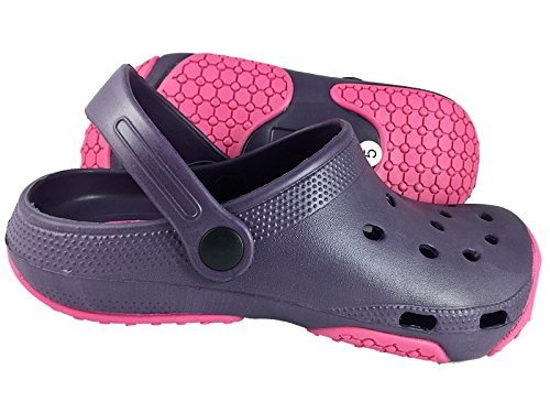 Coolers Mujer Exterior Eva Clogs Morado - Purple Pink