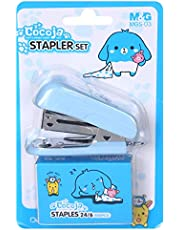 M&G Mgs-03 Stapler Set Stainlees Steel 24/6 - Baby Blue