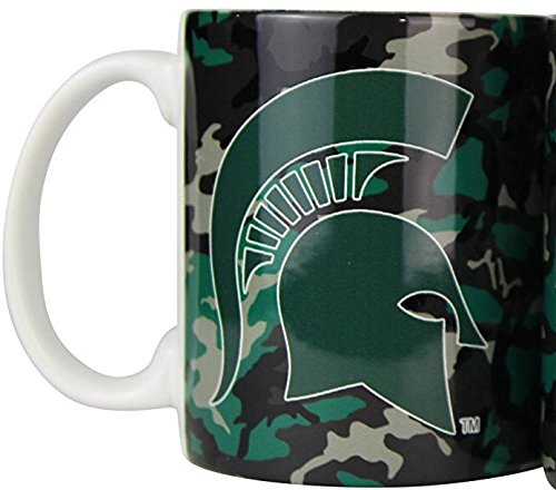 Michigan State Spartans Camouflage 11oz Coffee Mug