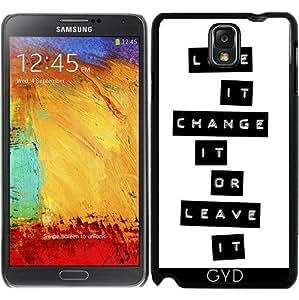 Funda para Samsung Galaxy Note 3 (GT-N9500) - El Amor O Salir by Andrea Haase