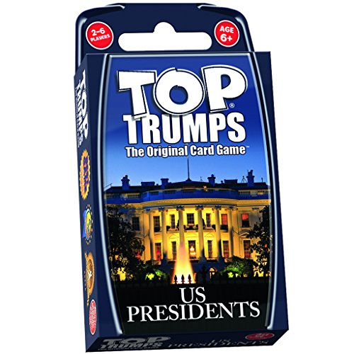 US Presidents Top Trumps Card Game | Educational Card Games (Presidents Game)