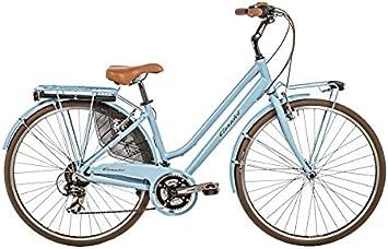 Casadei Bicicleta Clasica Retro Mujer - CTB Vintage Donna 28 21v 68DV, Azul Claro: Amazon.es: Deportes y aire libre