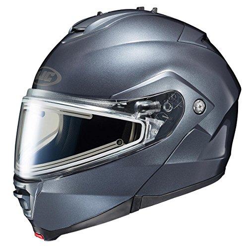 HJC Helmets Unisex-Adult IS-MAX II Electric Shield Helmet (Anthracite, Small)