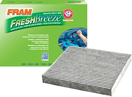 FRAM CF10381 Fresh Breeze Cabin Air Filter with Arm & Hammer