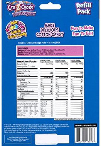 Cotton Candy Refill Kit,12 Oz