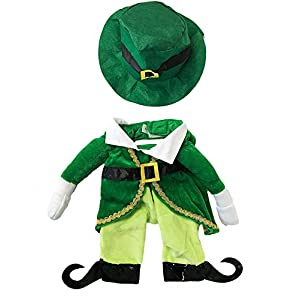 Midlee Fake Arms Small Dog Costume by (Leprechaun, Small)
