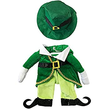 Fake Arms Small Dog Costume by Midlee (Leprechaun, X-Small)