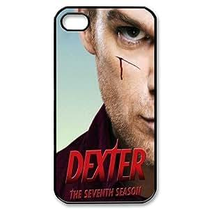 Apple iphone 5c Black/White Case - Dexter iphone 5c Snap On Hard Case - Vazza