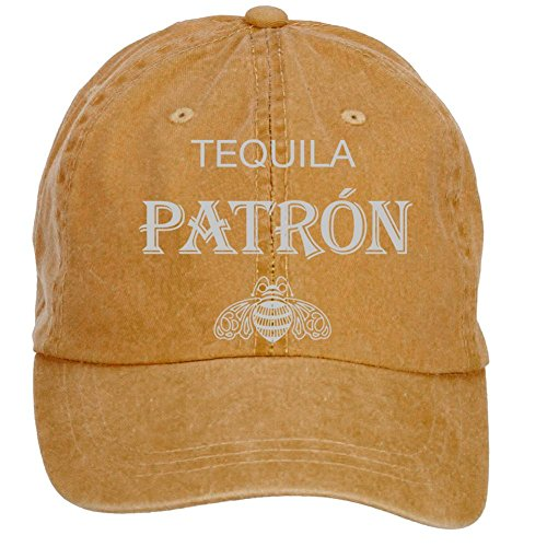nusajj-patron-tequila-logo-adult-unstructured-100-cotton-baseball-caps-design-brown-one-size