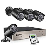 Best Surveillance Systems - ZOSI 4-Channel HD 720P Video Security System DVR Review