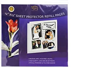 12-inch-by-12-inch Scrapbook Refill Pages
