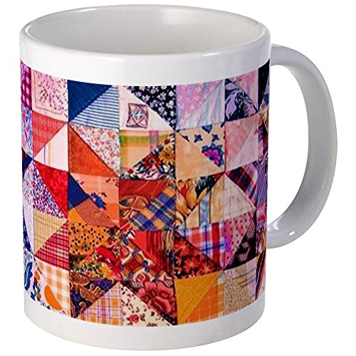 CafePress - Country Patchwork Quilt Mug - Unique Coffee Mug, Coffee (Quilt Mug)