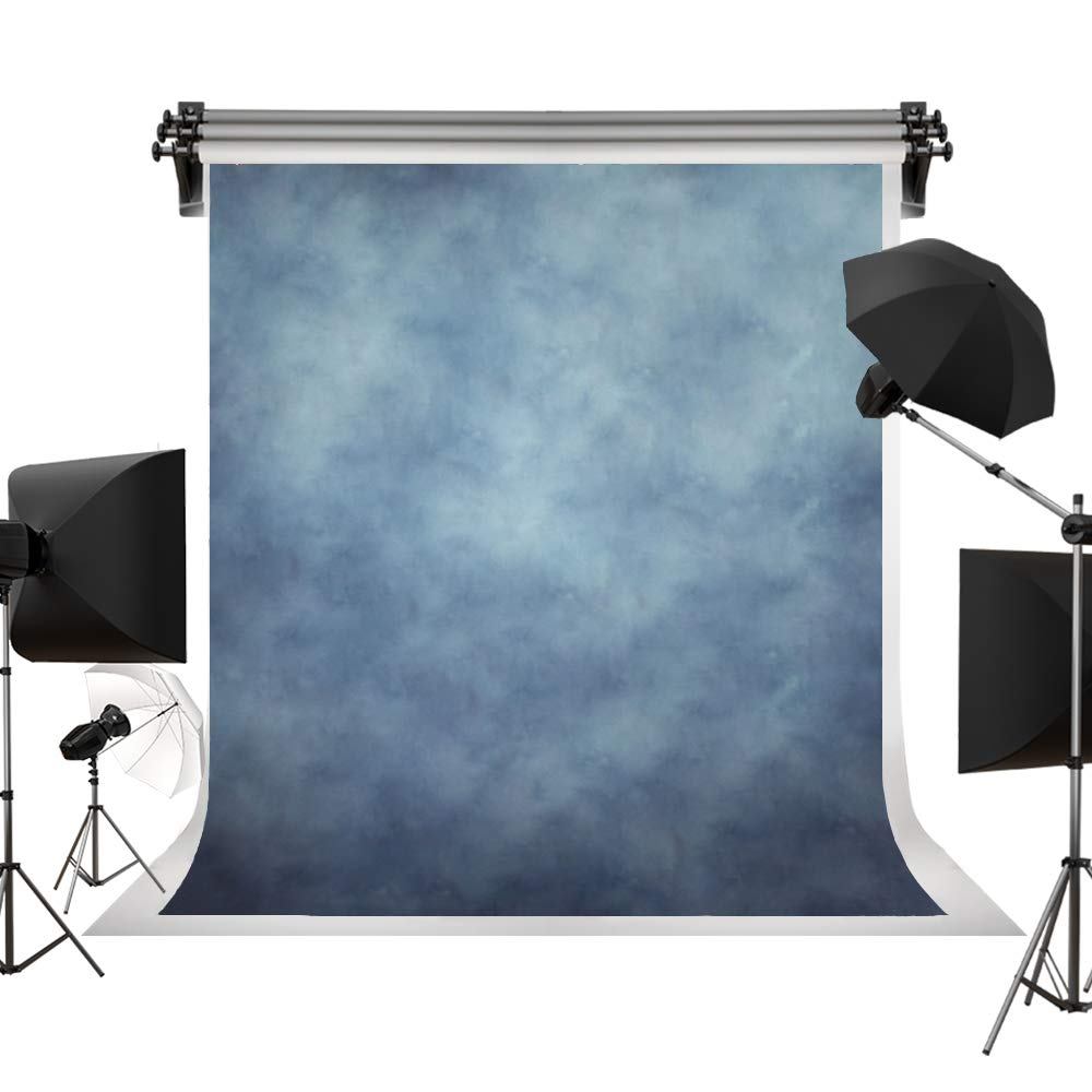 Kate 10x10ft/3x3m(W:3m H:3m) Photo Backdrops Photographers Retro Solid Light Blue Background Photography Props Studio Digital Printed Backdrop