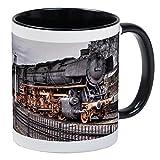 CafePress - Vintage Locomotive Steam Train Mug - Unique Coffee Mug, Coffee Cup