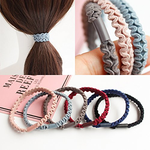Japan and South Korea simple rubber band hair band tails and bold holster Tousheng hair rope Korean headdress hair accessories hair tie for women girl lady