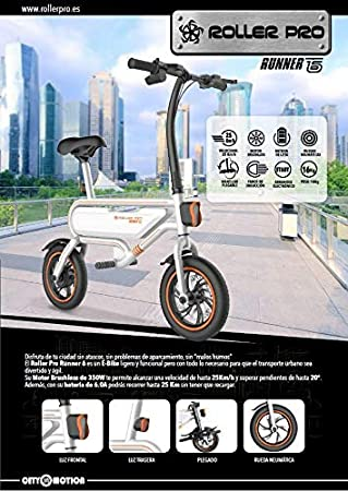 Roller Pro E Bike - Electric Scooter RP-Runner 6 Patinete ...